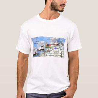 Camiseta Luzes da costa norte