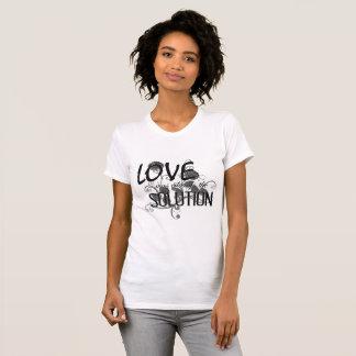 Camiseta LWATS - Pescoço de grupo alternativo do roupa