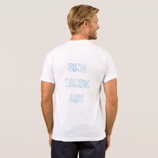 Camiseta LYT cantam o t-shirt do ato da dança