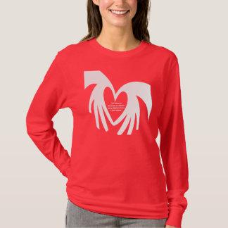 Camiseta M4JC Jeremys Heart_wht