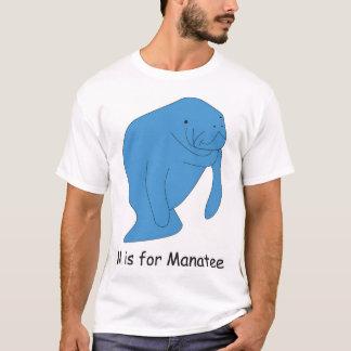 Camiseta M é para o peixe-boi