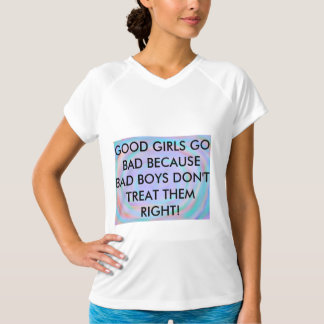 Camiseta má das citações das meninas