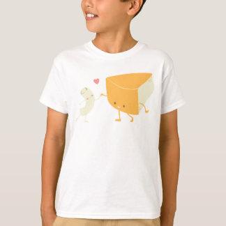 Camiseta Mac e queijo para sempre!