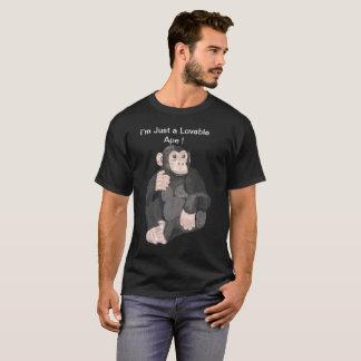Camiseta Macaco adorável