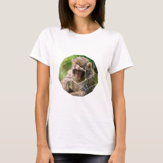 Camiseta Macaco da neve