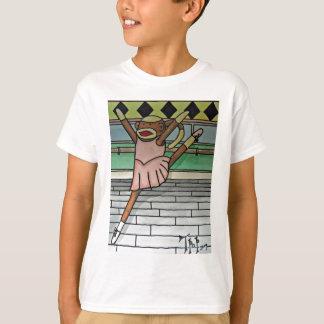 Camiseta Macaco da peúga da bailarina
