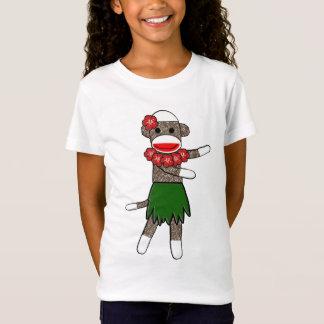 Camiseta Macaco da peúga de Hula - boneca das meninas
