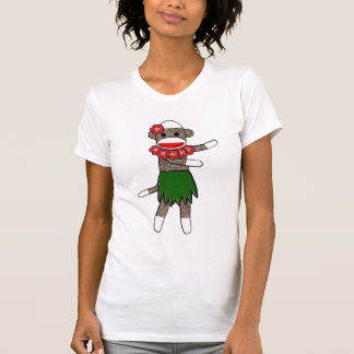 Camiseta Macaco da peúga de Hula pelo tanque das