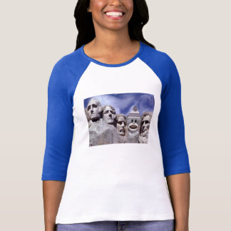 Camiseta Macaco da peúga do Monte Rushmore