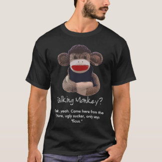 Camiseta Macaco de fala
