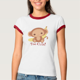 Camiseta Macaco demasiado bonito!