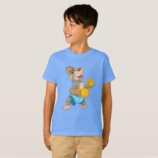 Camiseta Macaco do encaixotamento