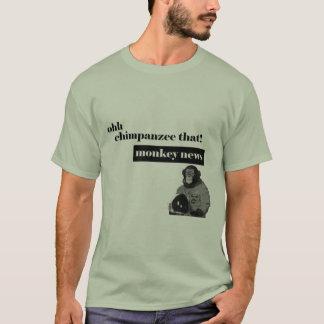 Camiseta Macaco do espaço