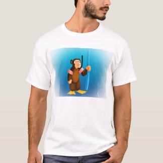 Camiseta Macaco do mergulhador