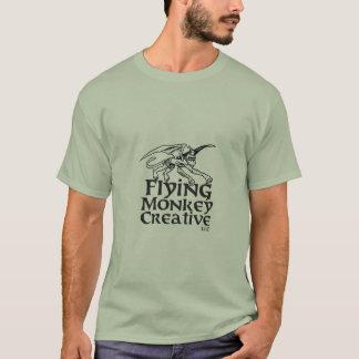Camiseta Macaco-logotipo do vôo