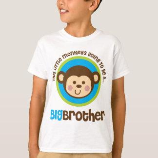 Camiseta Macaco pequeno que vai ser um big brother