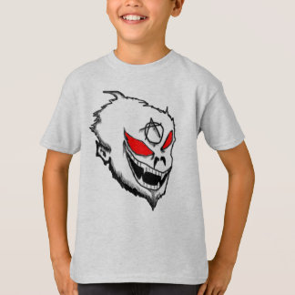 Camiseta MACACO rebelde da criança/anarquia