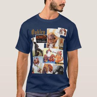 Camiseta Macacos da excursão do golfe