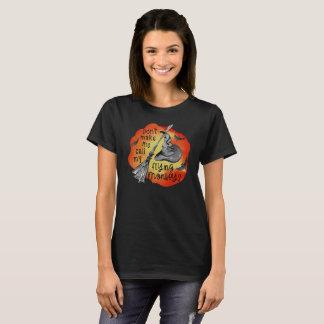 Camiseta Macacos do vôo - o Dia das Bruxas engraçado