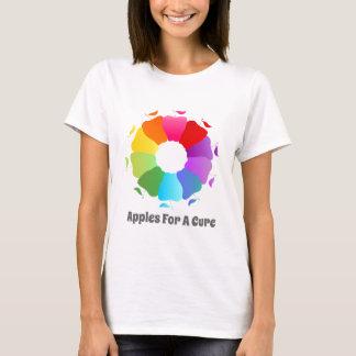 Camiseta Maçãs para uma cura - círculo da consciência