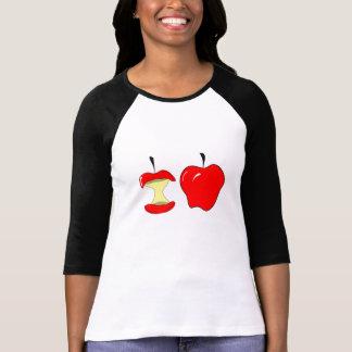 Camiseta maçãs saborosos