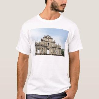 Camiseta Macau S.A.R, fachada de China, Sao Paulo,
