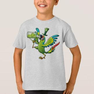 Camiseta Macaw do dia de Patrick de santo
