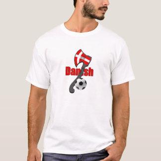 Camiseta Machado dinamarquês de viquingue da dinamite do