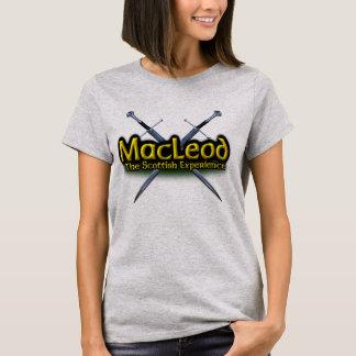 Camiseta MacLeod o clã escocês da experiência