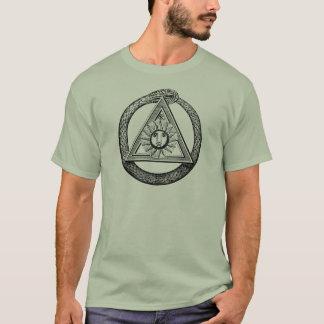 Camiseta Maçonaria todo o símbolo maçónico de vista do olho