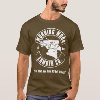 Camiseta Madeira da manhã