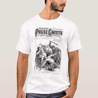 Camiseta Madrasta do t-shirt da gazeta da polícia