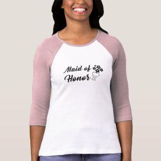 Camiseta Madrinha de casamento com o presente de casamento