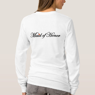 """Camiseta Madrinha de casamento """"dia de N.Y.E"""" do Hoodie"""