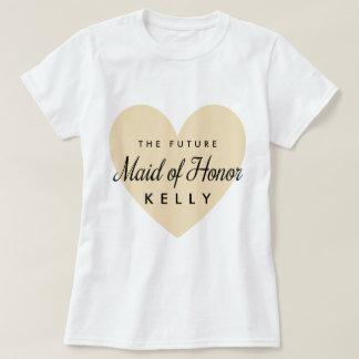 Camiseta Madrinha de casamento futura