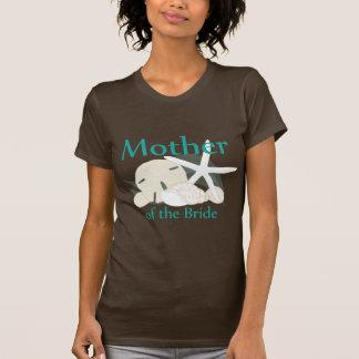 Camiseta Mãe calma dos Seashells da noiva