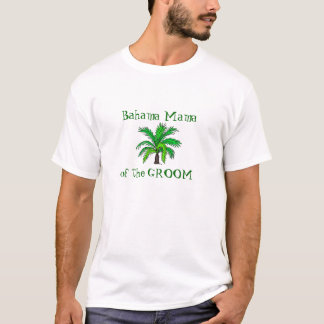 Camiseta Mãe do noivo - Bahamas