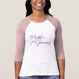 Camiseta Mãe do t-shirt do noivo