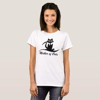 Camiseta Mãe dos gatos