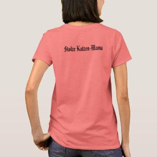 Camiseta Mãe orgulhosa de gato ♥