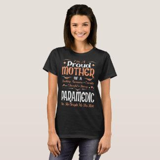 Camiseta Mãe orgulhosa do paramédico comprada este Tshirt