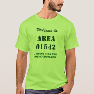 "Camiseta MÃES de Rochdale, aka ""ÁREA 01542""… Rochdaliens!"