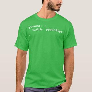 Camiseta Mães do programador do colaborador