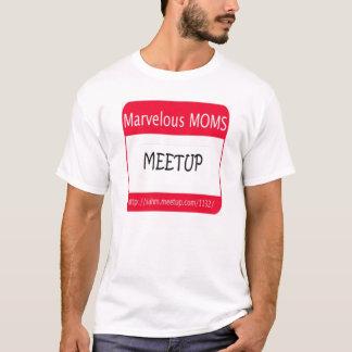 Camiseta MÃES maravilhosas Meetup