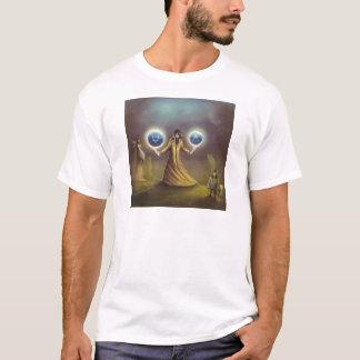 Camiseta mágica da fantasia do feiticeiro