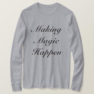 Camiseta Mágica do fazer