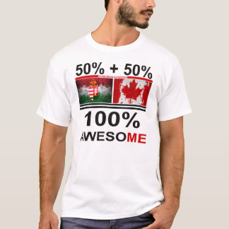 Camiseta Magyar impressionante Húngaro-Canadense do kanadai