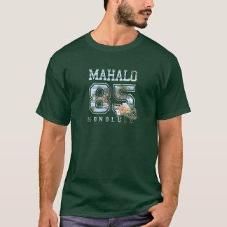 Camiseta Mahalo Honolulu, 85 escolares, Honolulu