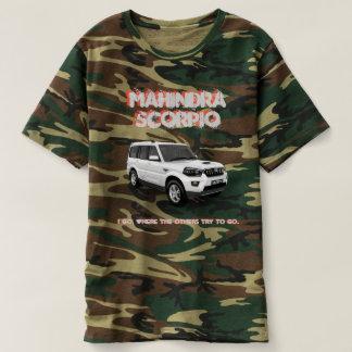 Camiseta Mahindra Scorpio T-shirt Camouflaged