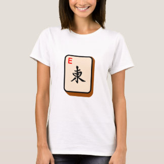Camiseta Mahjong do leste